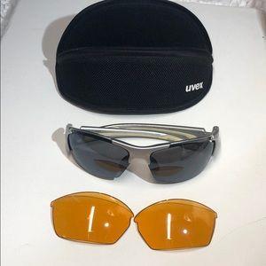 Uvex ~ Sunglasses w/extra Amber Lens